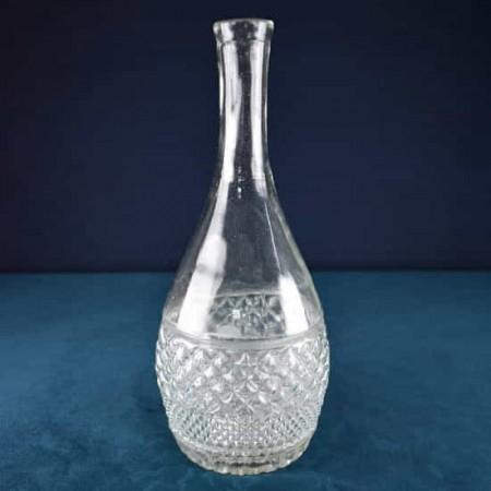 Glass greek bottle